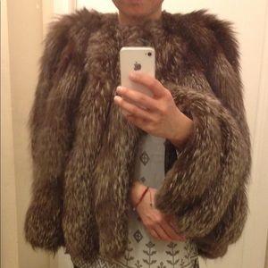 Jackets & Blazers - Fox 🦊 Fur Poncho/ Cape
